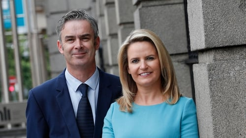 David Fitzsimon and Lorraine Higgins from Retail Excellence Ireland