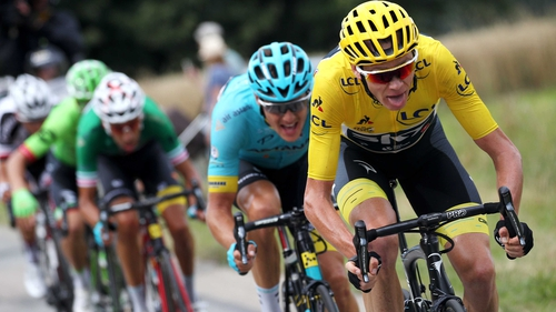 Froome is looking to win a third Tour in succession