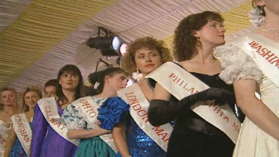 Contestants in the 1992 Mary From Dungloe competition (1992)