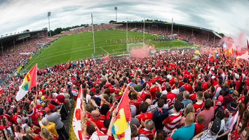 A crowd of 45,558 spectators watched Sunday's Munster hurling final