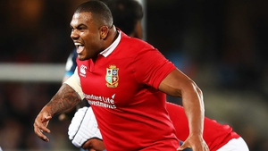 Kyle Sinckler featured in all three Tests against New Zealand