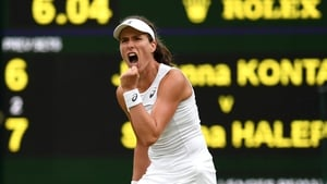 Johanna Konta has reached the last four at Wimbledon - the first British woman to do so since 1978