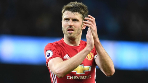 Michael Carrick to Captain Manchester United in 2017-18