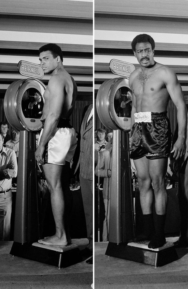 Muhammad Ali and Al 'Blue' Lewis