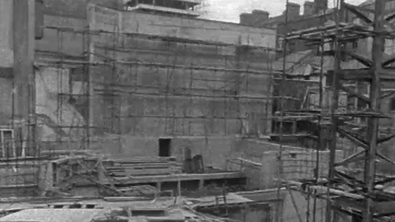 Abbey Theatre under construction (1962)