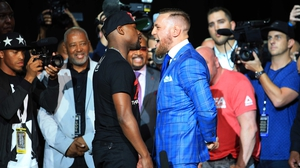 Conor McGregor is due to fight Floyd Mayweather in Las Vegas this weekend