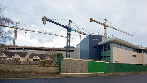 Naas Shopping Centre was due to open a decade ago before Christmas 2009 and cost an estimated €43m to construct