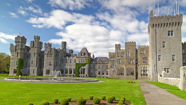 Ashford castle was one of three Irish hotels ranked among the 15 best resort hotels in Europe