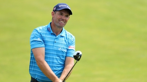 Harrington struck an opening round 67 in Scotland today