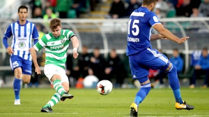 Graham Burke kept Shamrock Rovers in the tie