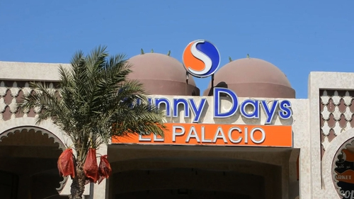 The second attack happened at the Sunny Days El Palacio resort