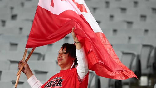 Tonga have secured their place in Japan