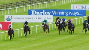 Enable leads home the field in this year's Darley Irish Oaks