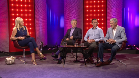 Davy Russell, Jim Bolger and Liam Griffin | Saturday Night with Miriam