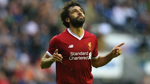 Mohamed Salah was selected as the winner from a five-man shortlist