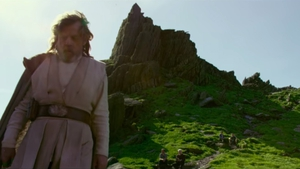 Mark Hamill on Skellig Michael