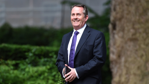 "Britain's International Trade Secretary Liam Fox said it would be ""foolish"" to go into the Brexit negotiations without being prepared to walk away"