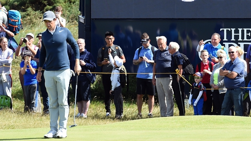McIlroy got to Royal Birkdale early