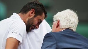 Marin Cilic: 'It was really bad luck.'