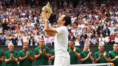 Roger Federer: 'I hope that I'm back, but there's never a guarantee.'