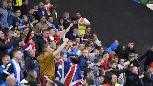 Linfield supporters will trabel to Glasgow on Wednesday night