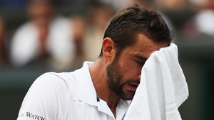 Marin Cilic took on Roger Federer in the 2017 Wimbledon men's singles finals on Sunday