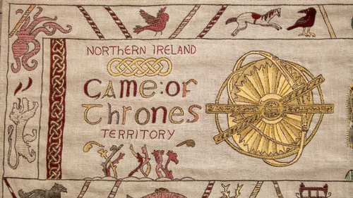 Game of Thrones story told in tapestry at Ulster Museum
