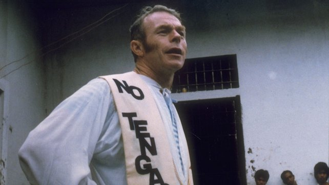 Fr Niall O'Brien during his imprisonment in The Philippines (1983)
