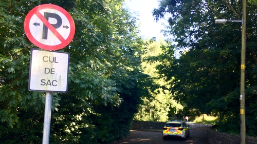 The woman's body was found in an area of undergrowth between Clonsilla Road and Snugborough Road