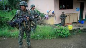 Rodrigo Duterte imposed military rule for 60 days in the Mindanao region on 23 May