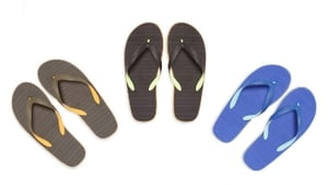 The flip flops were on sale from 4 January to 2 June