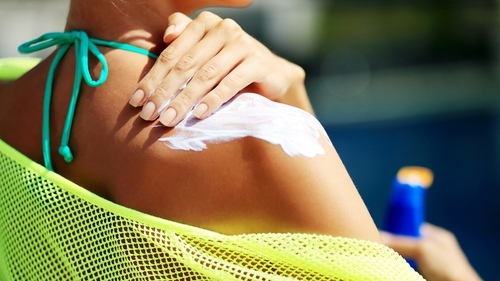 Sun cream sales sank by 66% as international travel was off the agenda for most people