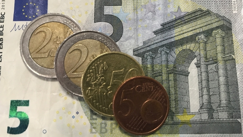 The Irish minimum wage is set to increase by 30 cent