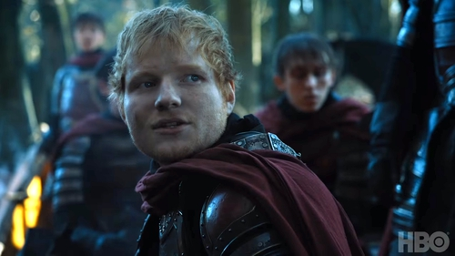Among other things, Ed made an appearance on Game of Thrones