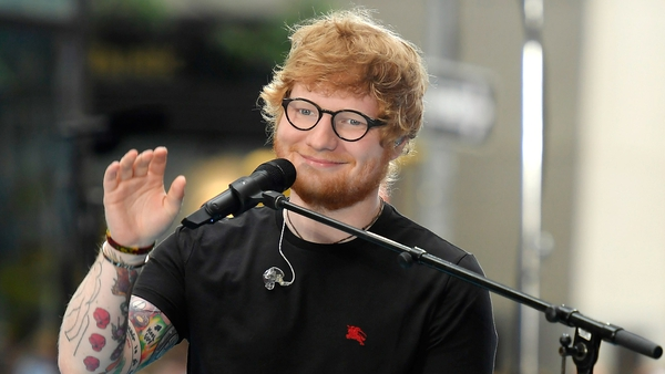 Ed Sheeran has been injured in a cycling accident in London