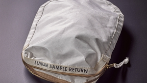 The bag that went to the moon and back