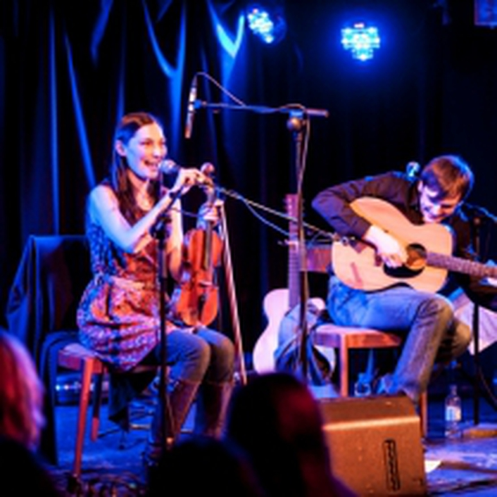 Zoe Conway, John McIntyre and the Coohe brothers at the National Opera House Wexford