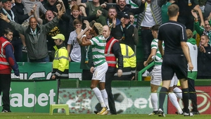 Scott Sinclair struck twice for the Hoops