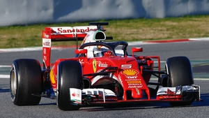Engine trouble let Sebastian Vettel at the back of the grid for the Malaysian Grand Prix