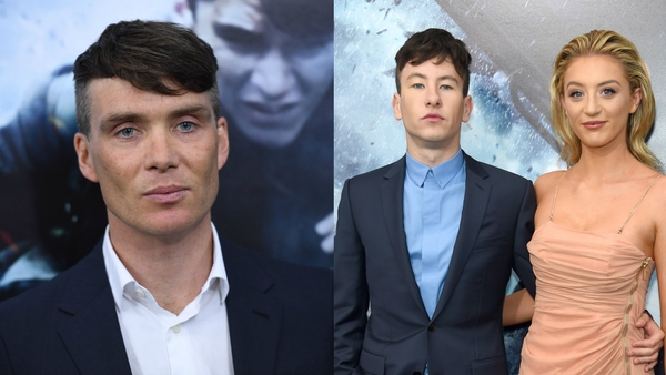 Cillian Murphy & Barry Keoghan suit up for Dunkirk