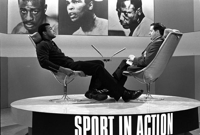 Muhammad Ali and Michael O'Hehir