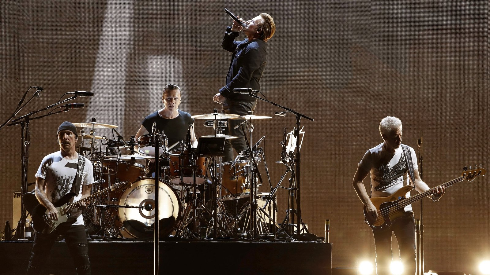 U2 release cover art and single from new album
