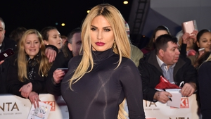 Katie Price - One of the guests on Saturday Night with Miriam on RTÉ One at 9.15pm