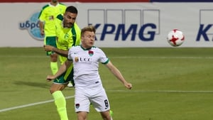 Cork City were defeated 1-0 in Cyprus