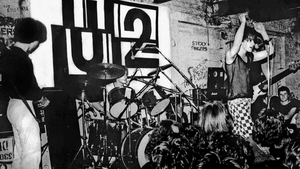 U2 at the Dandelion Market in 1979