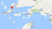 Emergency services said the affected area was a bar in the centre of Kos town (Google maps)