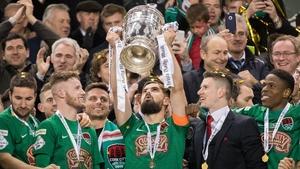 Cork City beat Dundalk in last November's final