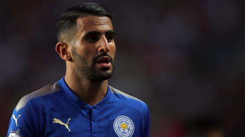 Mahrez reportedly put in a transfer request this week.