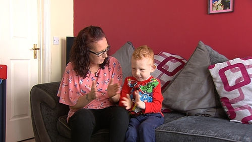 Vicky Kelly's son Gary is five years of age and has been on the waiting list since February 2016