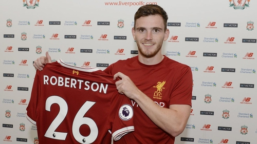 Liverpool boss Jurgen Klopp explains reasons for Andrew Robertson transfer